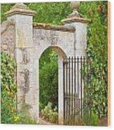 Gate Wood Print