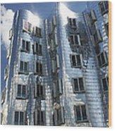 Gehry's Der Neue Zollhof Buildings Wood Print