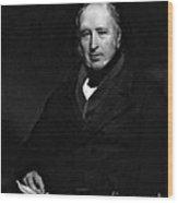 George Cayley, English Aeronautical Wood Print by Science Source