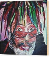 George Clinton Wood Print