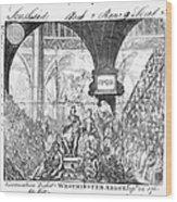 George IIi: Coronation, 1761 Wood Print by Granger