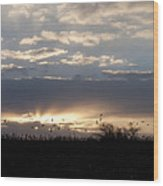 Gettysburg Dawn Wood Print