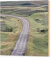Ghost Town Galilee Saskatchewan Wood Print