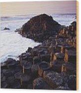 Giants Causeway, Co Antrim, Ireland Wood Print