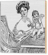 Gibson: Gibson Girl, 1901 Wood Print