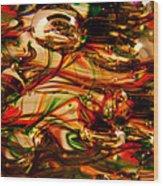 Glass Macro Vii Wood Print