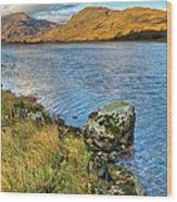 Glen Gour View Wood Print