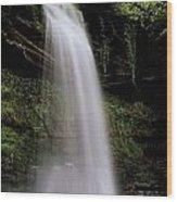 Glencar Waterfall, County Leitrim Wood Print