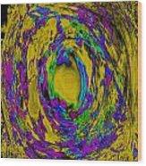 God's Fingerprint - Uranium Wood Print by Colleen Cannon