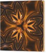 Golden Times Wood Print
