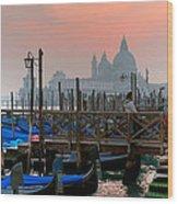 Gondole. Venezia. Wood Print
