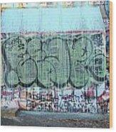 Graffiti - Tubs Iv Wood Print