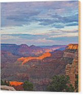 Grand Canyon Grand Sky Wood Print