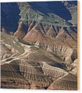 Grand Canyon Rock Formations IIi Wood Print