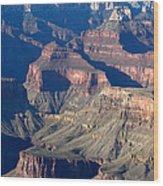 Grand Canyon Shadows Wood Print