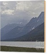 Grand Tetons Jackson Wyoming Wood Print
