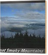 Great Smoky Mountains National Park 16 Wood Print