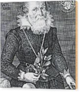 Gregor Horstius, German Physician Wood Print by Science Source