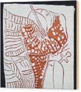 Guardian Angel - Tile Wood Print