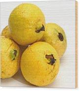 Guava Fruits Wood Print