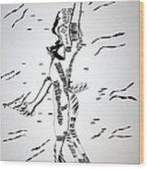 Gumbe Dance - Guinea-bissau Wood Print