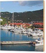 Harbor Paradise Wood Print