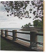 Harbors Point Wood Print