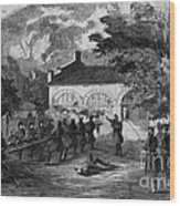 Harpers Ferry Insurrection, 1859 Wood Print
