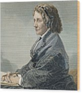 Harriet Beecher Stowe Wood Print
