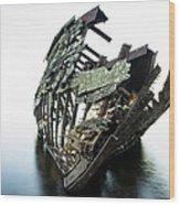Harvey Neelon Shipwreck So They Say... Wood Print