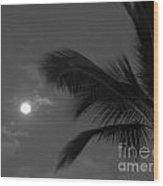 Hawaiian Palm Wood Print