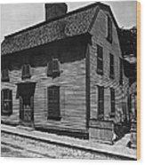 Hawthornes Birthplace Wood Print