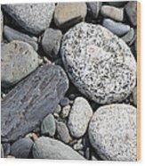 Healing Stones Wood Print
