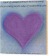 Heartww160 Wood Print