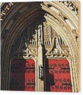 Heinz Chapel Doors Wood Print by Thomas R Fletcher