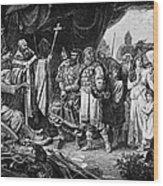 Henry I (876-936) Wood Print