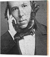 Herbert Spencer, English Polymath Wood Print