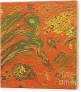 High Winds Wood Print