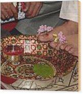 Hindu Wedding Ceremony Wood Print