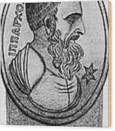 Hipparchus, Greek Astronomer Wood Print by Photo Researchers, Inc.