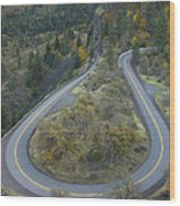 Historic Columbia River Highway Wood Print