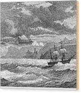 Hms Challenger, 1872-76 Wood Print