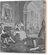 Hogarth: Marriage Wood Print