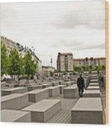 Holocaust Memorial - Berlin Wood Print