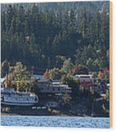 Home Sweet Kaslo Wood Print