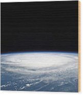 Hurricane Frances Wood Print