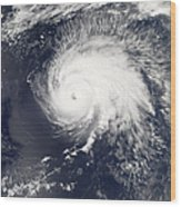 Hurricane Gordon Wood Print