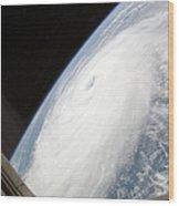 Hurricane Helene Wood Print