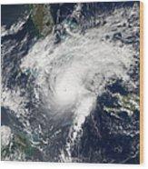 Hurricane Paloma Wood Print