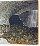 Ice Caves Wood Print